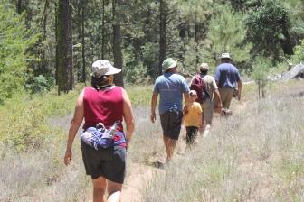 camp hike