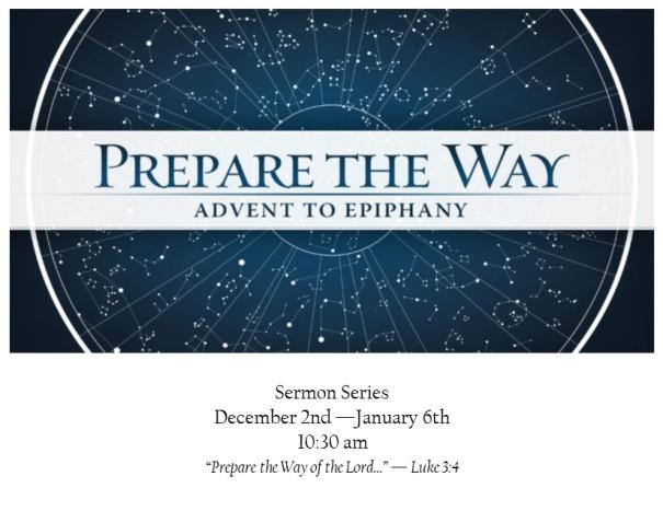 Prepare the way card