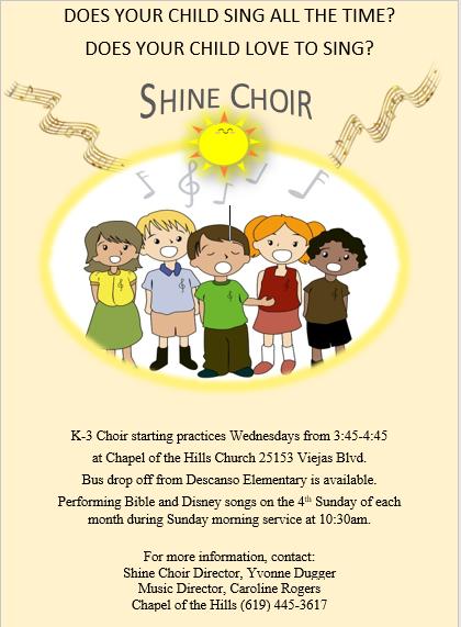 shine choir