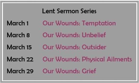 Lent Sermon Series